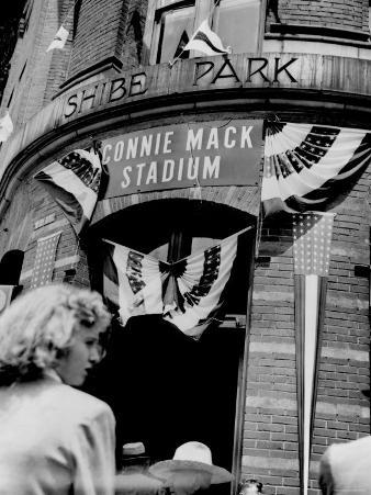 Connie Mack Stadium, Formerly Shibe Park, Philadelphia, Pennsylvania