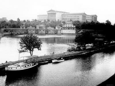 Dock on the River by the Art Museum, Philadelphia, Pennsylvania