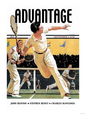 Men Play Tennis