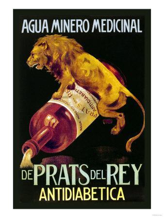 Agua Minero Medicinal de Prats del Rey