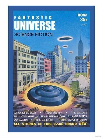 Fantastic Universe: Ufos in New York