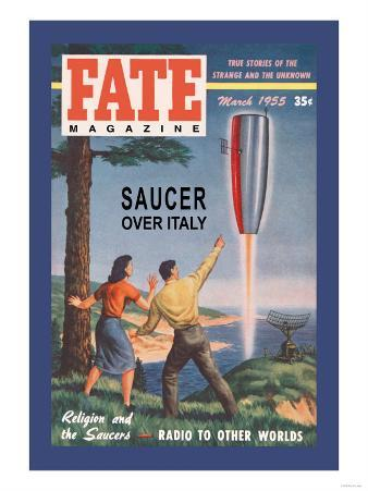 Fate Magazine: Saucer over Italy