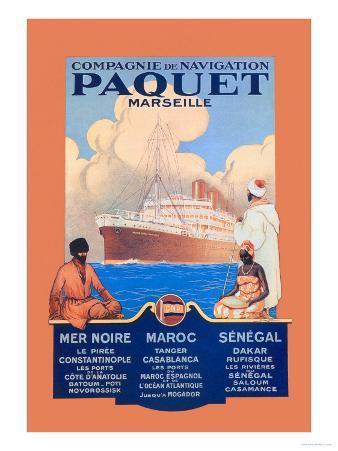 Marseille Cruise Package: Black Sea-Morocco-Senegal