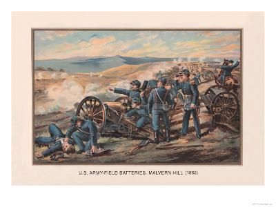 U.S. Army, Field Batteries, Malvern Hill, 1862