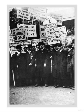 Clothing Workers Strike