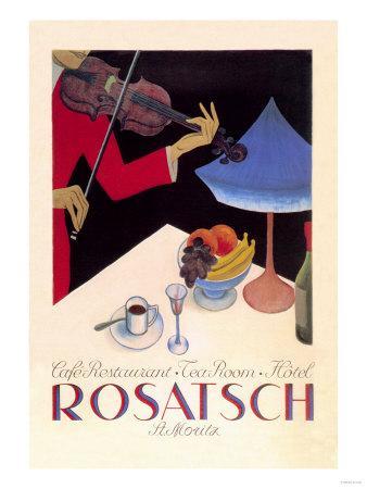 Rosatsch: Cafe-Restaurant, Tea Room, Hotel