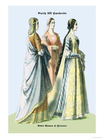 Noblewomen of Florence, 15th Century