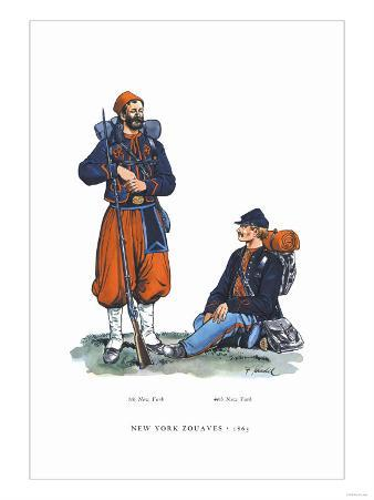 New York Zouaves, 1863