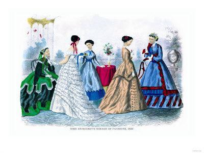 Mme. Demorest's Mirror of Fashions, 1840