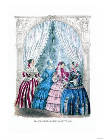 Frank Leslie's Ladies' Gazette, 1854