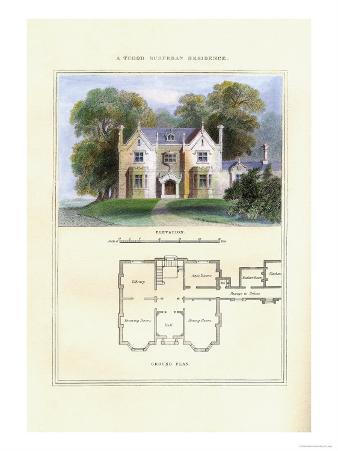 Tudor Suburban Residence