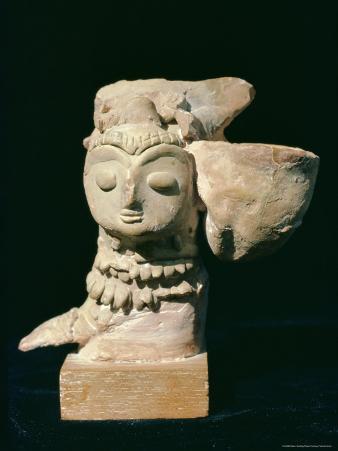 Mother Goddess Statue from Mohenjodaro, Indus Valley Civilisation, Karachi Museum, Pakistan