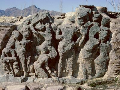 Butkara Ruins, Swat Valley, North West Frontier Province, Pakistan, Asia