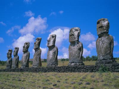 Ahu Akiui, Easter Island, Chile, Pacific