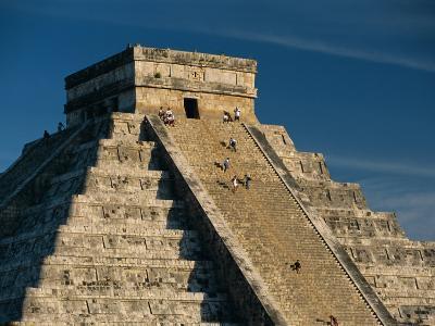 Mayan Ruins, Chichen Itza, Unesco World Heritage Site, Yucatan, Mexico, Central America