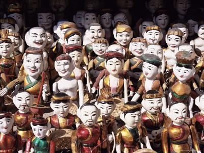 Water Puppets, Hanoi, Vietnam, Indochina, Southeast Asia, Asia