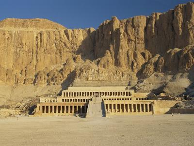 The Temple of Hatsepsut, Valley of the Queens, Thebes, Egypt, Africa