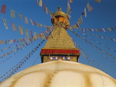Bodhnath Stupa (Bodnath, Boudhanath) the Largest Buddhist Stupa in Nepal, Kathmandu, Nepal