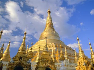 The Great Golden Stupa, Shwedagon Paya (Shwe Dagon Pagoda), Yangon (Rangoon), Myanmar (Burma)