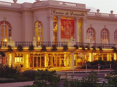 Casino, Deauville, Cote Fleurie, Calvados, Basse Normandie (Normandy), France, Europe