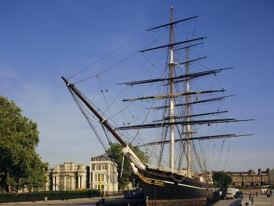 The Cutty Sark, an Old Tea Clipper, Greenwich, London, England, UK