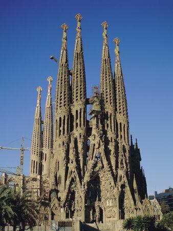 La Sagrada Familia, Gaudi Cathedral, Barcelona, Catalonia (Cataluna) (Catalunya), Spain, Europe