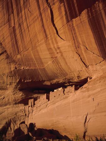 Anasazi White House Ruins, Canyon De Chelly, Arizona, USA
