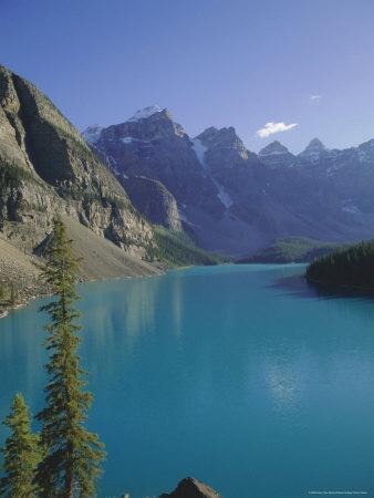 Valley of Ten Peaks, Moraine Lake, Banff National Park, Rocky Mountains, Alberta, Canada