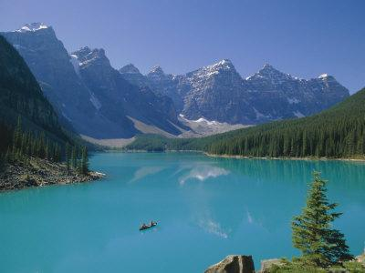 Valley of the Ten Peaks, Moraine Lake, Banff National Park, Rocky Mountains, Alberta, Canada