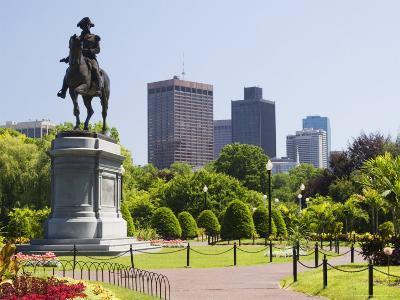 Statue of George Washington on Horseback, Public Garden, Boston, Massachusetts, USA