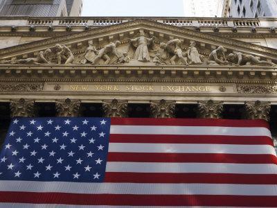 The New York Stock Exchange, Wall Street, Manhattan, New York City, New York, USA