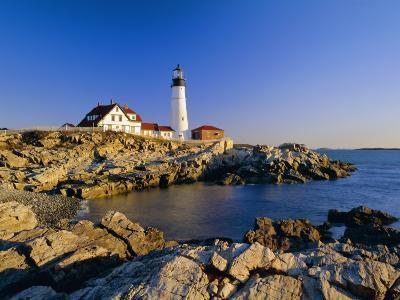 Portland Head Lighthouse, Cape Elizabeth, Maine, New England, USA