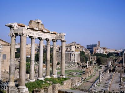 The Roman Forum in Rome, Lazio, Italy