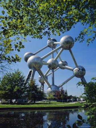 The Atomium, Brussels, Belgium