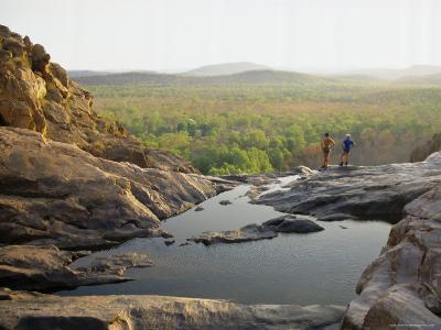 Gunlom Falls, Kakadu National Park, Unesco World Heritage Site, Australia, Pacific