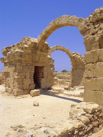 Byzantine Fortress, Paphos, Cyprus, Europe