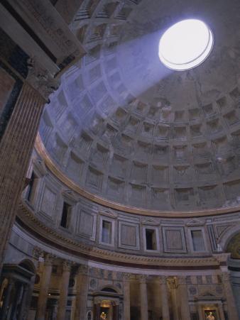 Interior, the Pantheon, Rome, Lazio, Italy, Europe