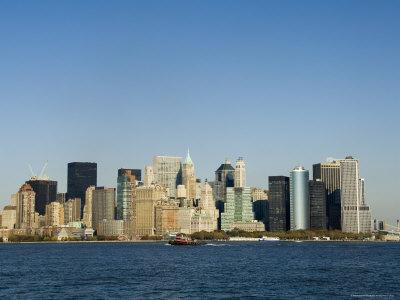 Business District, Lower Manhattan, New York City, New York, USA