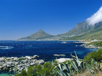 View from Chapman's Peak Drive, Near Cape Town, South Africa