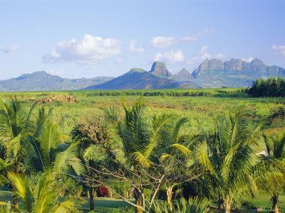 Mauritius, Scenic in the North West Region of the Island