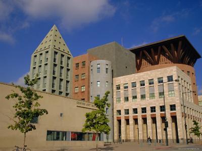 Art Museum and Public Library, Denver, Colorado, USA