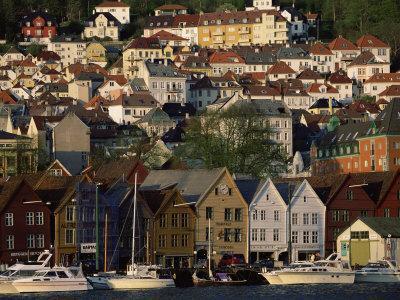 The German Quarter, Bergen, Norway, Scandinavia, Europe