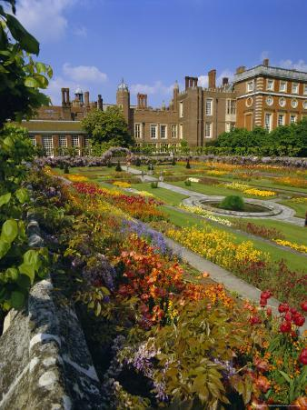Sunken Gardens, the Origin of the English Nursery Rhyme 'Mary Mary Quite Contrary', London, England