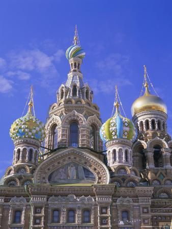 Church on Spilled Blood, Unesco World Heritage Site, St. Petersburg, Russia