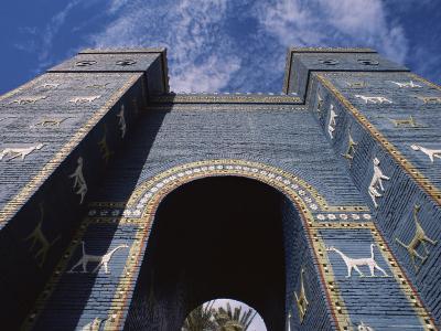 Ishtar Gate, Babylon, Iraq, Middle East