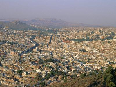 Overlooking Zacatecas, Zacatecas State, Mexico, Central America