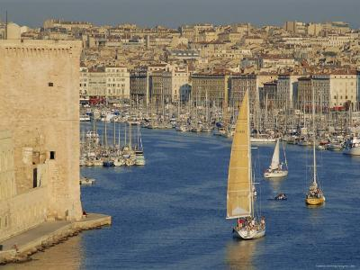 The Old Port, Marseilles, Provence, France, Europe