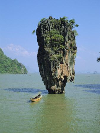 Ao Phang Nga, Ko Tapu (James Bond Island), Thailand, Asia