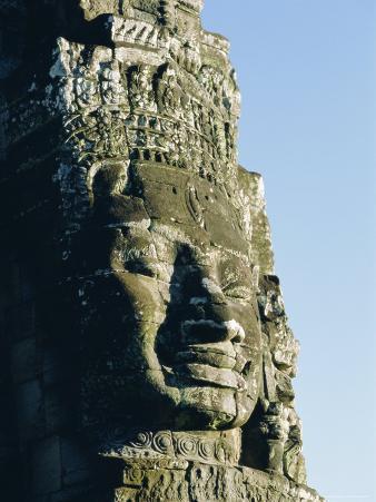 The Bayon Temple, Angkor Wat, Angkor, Siem Reap, Cambodia, Asia