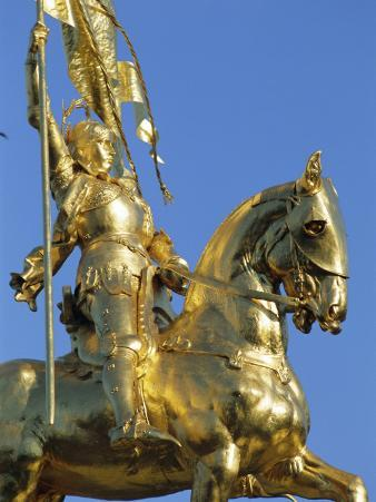 Equestrian Statue of Joan of Arc, French Quarter, New Orleans, Louisiana, USA